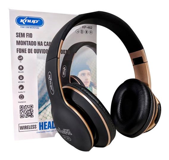 Fone De Ouvido Bluetooth Sem Fio Cel Som Notebook Tv Smart