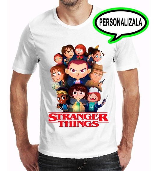 Playera Stranger Things Hombre Niño