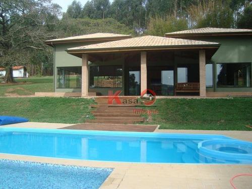 Imagem 1 de 30 de Chácara Com 4 Dormitórios À Venda, 135520 M² Por R$ 1.500.000,00 - Campinho - São Manuel/sp - Ch0016