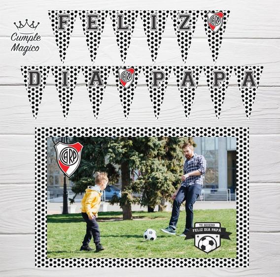 Dia Del Padre Foto Poster Cartel Y Banderín Deco Personaliza