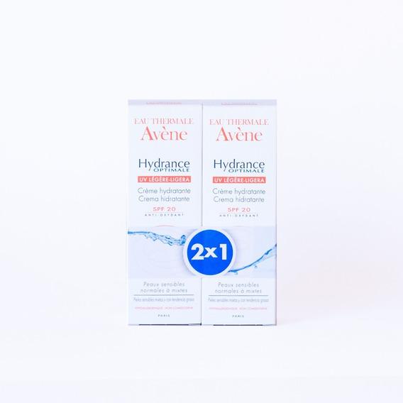 Avene Hydrance Optimale Uv Legere Spf 20 X 40 Ml Pack X 2