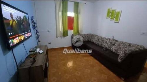 Casa Com 4 Dormitórios À Venda, 190 M² Por R$ 270.000,00 - Jardim Miranda D Aviz - Mauá/sp - Ca0177