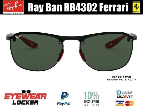 Gafas Ray Ban Scuderia Ferrari Rb4302 100% Originales