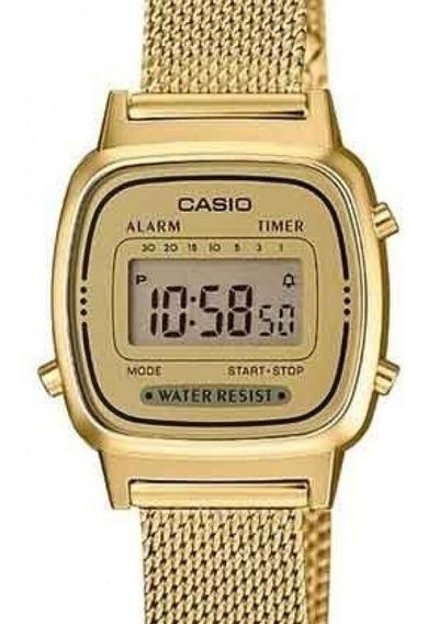 Relógio Casio Feminino Vintage Digital La670wemy-9df