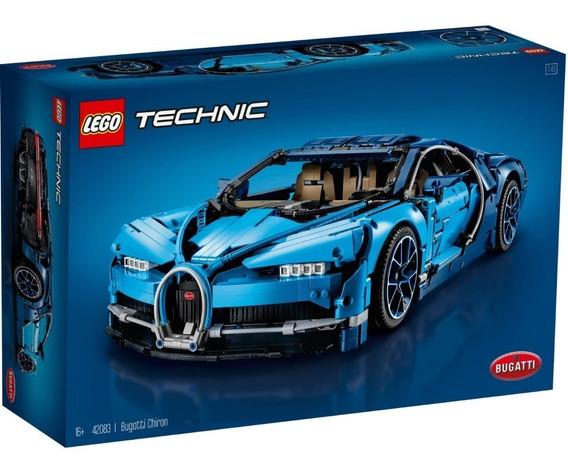 Lego Technic Bugatti Chiron Com Kit De Luz (led) 42083