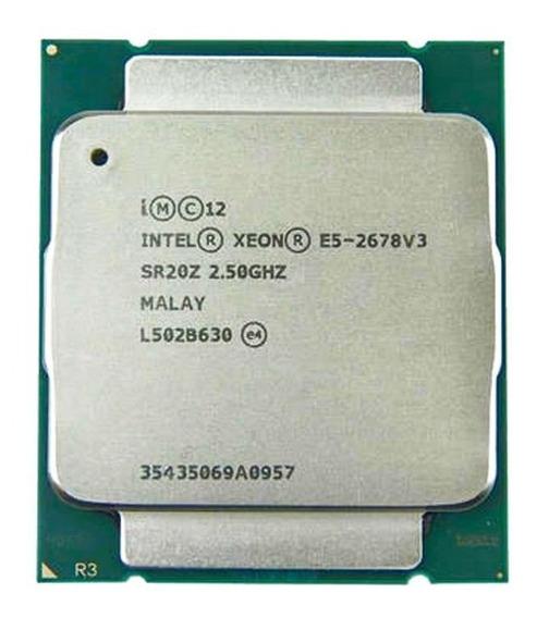 Processador Xeon E5 2678 V3 - 12 Cores/24 Threads - Br