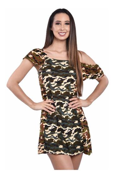 Vestido Camuflado