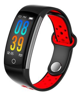 Reloj Inteligente Fitness Color Podómetro Bluetooth 2019