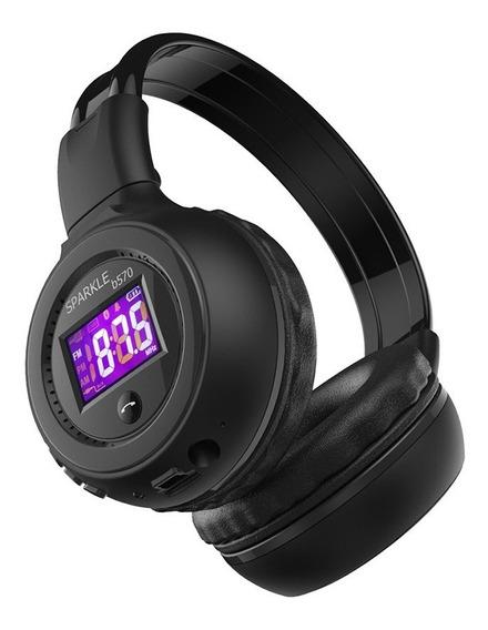 Fone De Ouvido Headphone Bluetooth Zealot Micro Sd Rádio Fm