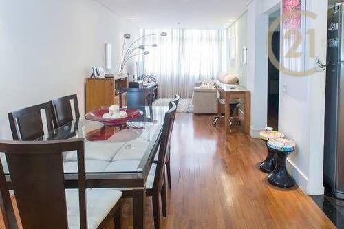 Imagem 1 de 16 de Apartamento Com 1 Dormitório À Venda, 72 M² - Pinheiros - São Paulo/sp - Ap24090