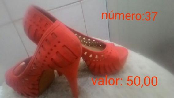 Sapato Salto Alto Usado Apenas 2 Vezes