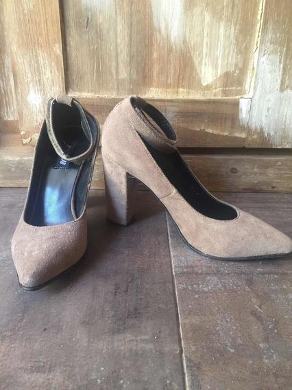 Zapatos Gamusa Color Nude Ay Not Dead
