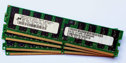 Imagem 1 de 2 de Kit Memoria 4x4gb (16gb) Pc2-5300p Dell Poweredge T300