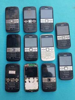 Lote Com 11 Celulares Nokia E5-00 (leia A Descrição)
