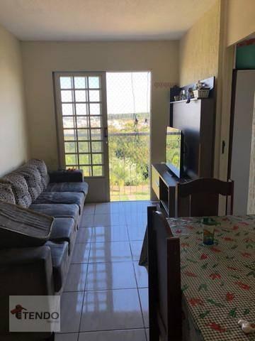 Imagem 1 de 19 de Apartamento Com 2 Dormitórios À Venda, 52 M² Por R$ 150.000,00 - Jardim Morada Do Sol - Indaiatuba/sp - Ap2222