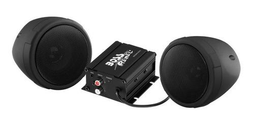 Imagen 1 de 8 de Parlantes Moto 3 Boss Mcbk400 Fm 600w Black Box - Tecnoway
