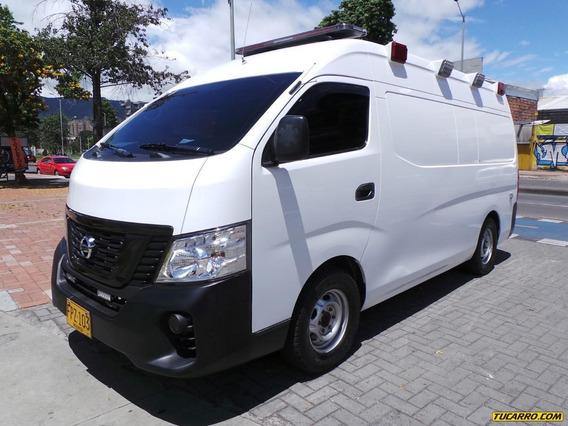 Ambulancias Nissan Urvan