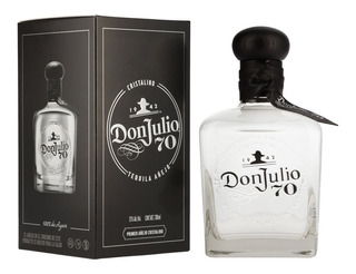 Tequila Don Julio 70 Cristalino Añejo 700 Ml