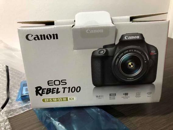 Camera Canon Rebel T100 Wifi