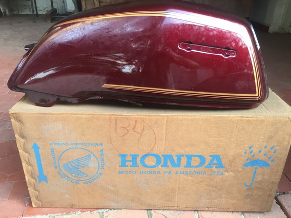 Tanque De Gasolina Moto Honda Cb 450 Custom - Novo Na Caixa