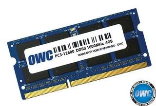 Memoria,owc Pc12800 Ddr3 1600mhz So-dimm 204 Pin Ram 4.0..