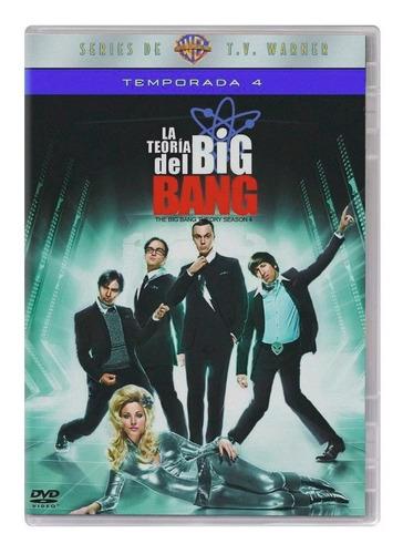 La Teoria Del Big Bang Theory Cuarta Temporada 4 Cuatro Dvd