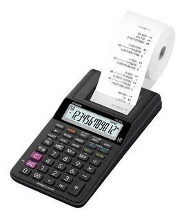Calculadora Impresora 12 Digitos Miniprint Casio Hr-8rc