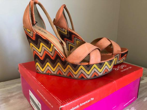 Zapatos Plataforma Retro