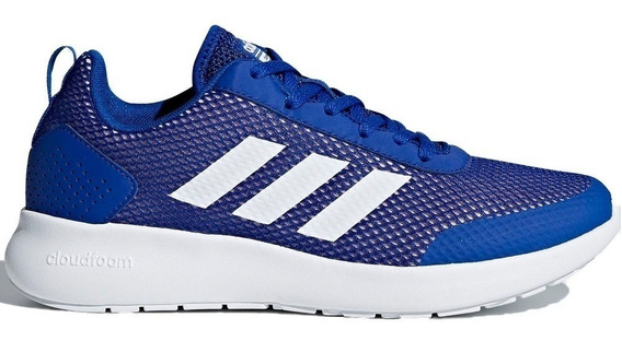 Tenis Dama adidas Element Race Db1476 Azul Originales