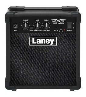 Amplificador De Guitarra Laney Lx-10 Con Distorsion