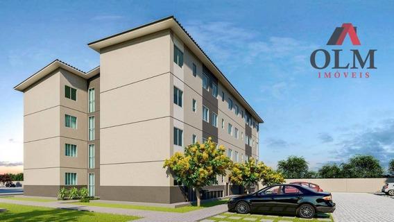 Apartamento À Venda, 42 M² Por R$ 119.000,00 - Padre Julio Maria - Caucaia/ce - Ap0139