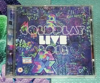 Coldplay, Cd/dvd
