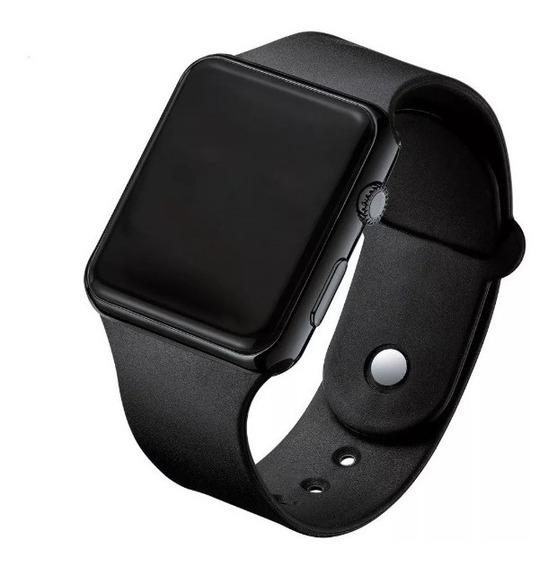 Relógio Led Digital Quadrado Masculino Estilo Smartwatch Top