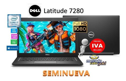 Portatil Dell Latitude 7280 Core I7-7ma/ssd 256gb/8gb/12.5