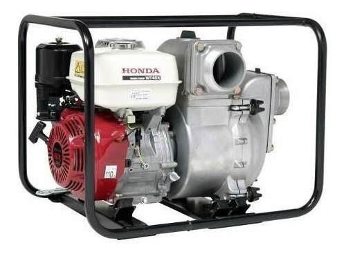 Motobomba Honda 4 11hp Agua Turbia Naftera 1640 L/m Wt40x