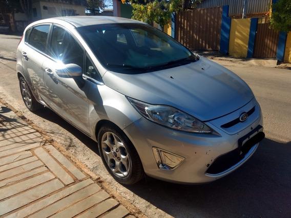 Ford Fiesta Se 1.6 Prata Top De Linha Completo Somente Venda
