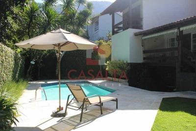 Casa Em Condomínio-à Venda-itanhangá-rio De Janeiro - Cacn40005