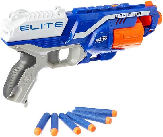 Pistola De Dardos Nerf Elite Disruptor Original