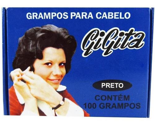 Imagem 1 de 1 de Grampo Gigita Preto N°5