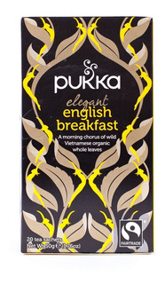 Té Negro Orgánico Natural Tea Importado Pukka 20 Saquitos
