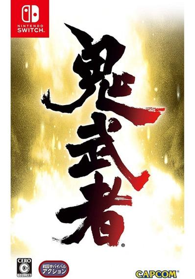 Onimusha Warlords Switch Mídia Física Lacrado Leg. Em Inglês