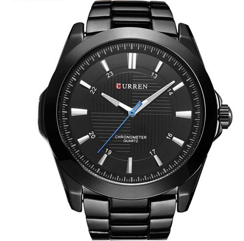 Relógio Masculino Curren Preto 10443