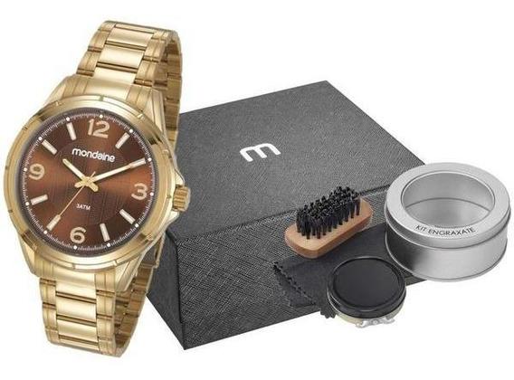 Relógio Masculino Mondaine+brinde,(promoção De Dia Dos Pais)