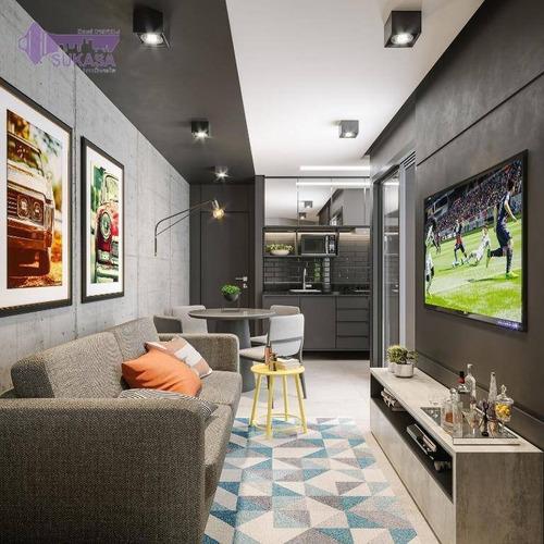 Cobertura Com 2 Dormitórios À Venda, 86 M² Por R$ 269.000,00 - Jardim Do Estádio - Santo André/sp - Co0465