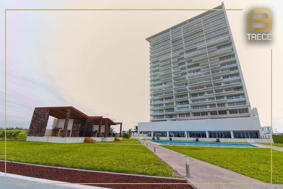 Estrena Departamento Con Hermosa Vista Al Mar En Riviera Veracruzana