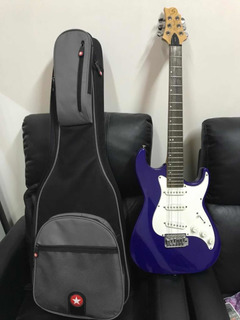 Guitarra Eléctrica Samick Usa + Funda Oportunidad Líquido!