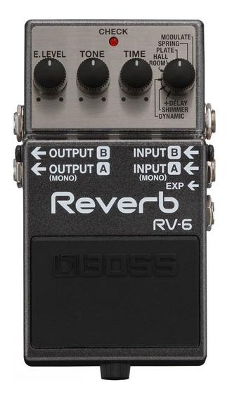 Pedal Reverb Rv-6 Boss