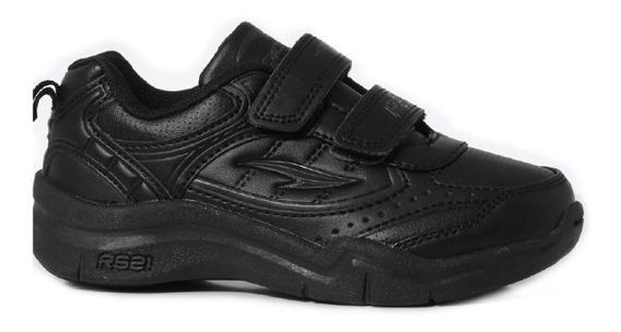 Zapatos Deportivos Colegiales Para Niños Rs Training Velcro