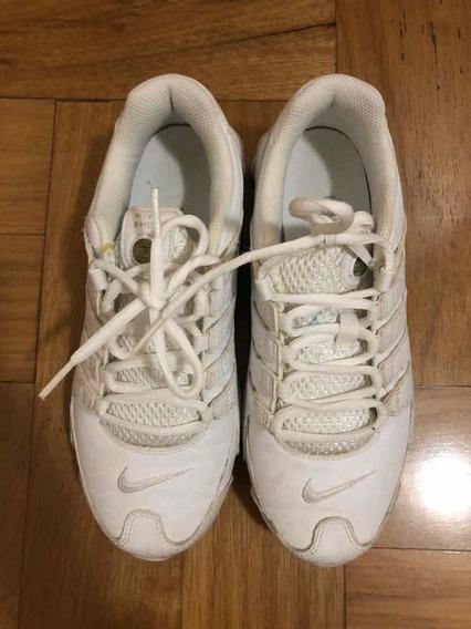 Tênis Nike Shox Branco Feminino Tamanho 37