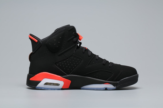 Tenis Jordan® 6 Black Infrared Originales - Envío Gratis